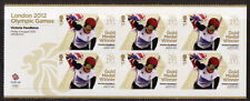 GREAT BRITAIN LONDON 2012 Victoria Pendleton CICLISMO MINISHEET UM, Giochi Olimpici MNH