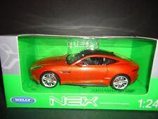 Welly Jaguar F Type Coupe Orange 1/24