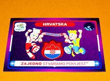 41 MASCOTTES HRVATSKA CROATIE FOOTBALL PANINI UEFA EURO 2012