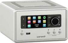 Sonoro Relax silber Internet-Radio Multiroom FM/DAB+/Bluetooth/USB/W-LAN/LAN