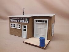 Ho Scale Shipping And Storage Office Structure Layout Building Lot 123
