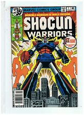 Marvel Comics Shogun Wariors #1 VF+ 1978