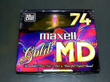 MAXELL MD GOLD 74 OVP NEU SEALED MINIDISC