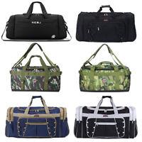 Travel Large Men Duffel Bags Waterproof Gym Sport Bag Carry On Luggage Backpack