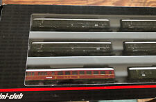 Marklin Spur Z Guage Mini Club Set of 6 Coaches 87350 MIB