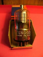 VINTAGE TUNG-SOL 5DJ4 METAL BASE TUBE NEW OLD STOCK TESTED ON HICOCK TESTER