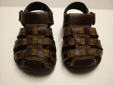 Baby Boy Sandal Shoe Size 5 Smartfit Leather Collection Skid Resistant