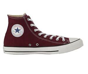 Converse Chuck Taylor All Star Hi Burgundy Womens Sneakers 139784F