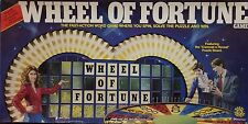 WHEEL OF FORTUNE Board Game by Pressman 1985 Complete & Ready to Play