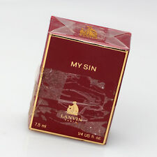 My Sin Perfume Lavin Paris France 1/8 Fl. Oz. New Sealed in Box