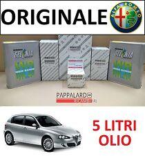 KIT TAGLIANDO 4 FILTRI ORIGINALI + OLIO SELENIA 5W40 ALFA ROMEO 147 1.9 JTD JTDM