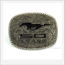 * Ford Mustang 50th Anniversary licensed Belt Buckle Pony Gürtelschnalle *249