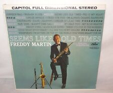 VTG Freddy Martin (Seems like old times) Singing Saxophone Capitol Records