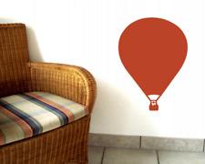 Wandtattoo Ballon 'Rozier' Heißluftballon 25 Farben 6 Größen