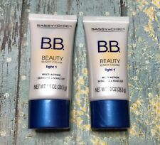 2 - Sassy+Chic BB Cream Multi-Action Skincare + Makeup - Light 1 EXP 07/2022