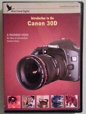 INTRODUCTION TO THE CANON 30D a training video DVD no reference card
