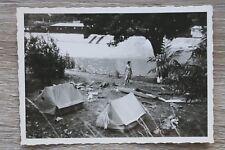 Foto Faltboot Sport Urlaub 1950-60er 50s 60s Freizeit Camping Platz Zelt Frau
