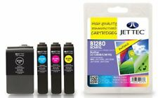 Jettec LC-1280 BCMY XL Multipack remanufacturados cartuchos de tinta para Brother