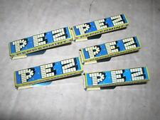 5x Vintage PEZ  Peppermint Blech Klicker Knackfrosch - 60er/70er Jahre
