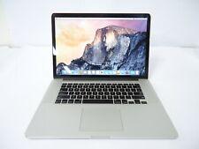 """Apple 🍎 MacBook Pro 15"""" A1398 MID-2015 RETINA i7 2.5GHZ 16GB DDR3 RAM 256GB SSD"""