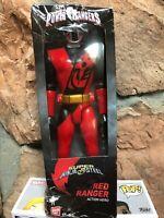 DAMAGED PCKGNG Power Rangers 12-Inch Super Ninja Steel Red Ranger Brody Bandai