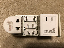 Franzus Travel-Lite 1600 watt international electricity converter / adapter set