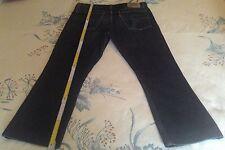 Levi's 646 originale jeans uomo Tag.52 W33 L34 colore BLU scuro usato una volta