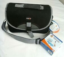 NEW ZEIKOS Camera Bag,Shock,Water Proof,w/Strap,Digital Camera Cleaning Kit