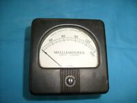 Vintage Marion DC Milliamperes Meter Measures 0-150 ma Gauge Model 53sn  /b4