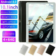 New 10.1 Tablet PC 8+64G HD Android 8.0 4G WIFI/WLAN...