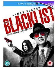 The Blacklist Complete Series 3 Blu Ray Black List All Episodes Third Season UK