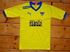 TAMAÑO: S Dunfermline Athletic FC Camiseta de Fútbol Igualdades Home Camisa 2009