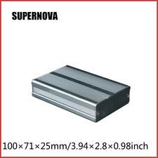 100*71*25mm Aluminum DIY Instrument Box Enclosure Electronic Project Case