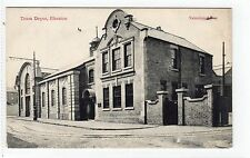 TRAM DEPOT, ILKESTON: Derbyshire postcard (C7821)