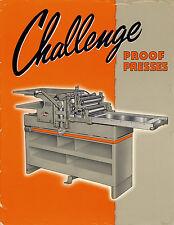 Challenge 15KA PRINTING PRESS BROCHURE PDF