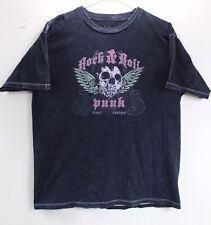 FUEL Band T Shirt Men's Black LARGE Rock Band Punk Fuel Couture