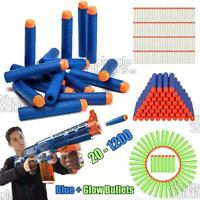 20-1200PC Soft Refill Bullets Darts Round Head Gun Blaster Nerf N-strike Kid Toy