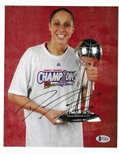 Diana Taurasi UCONN signed Phoenix Mercury 8x10 photo Autographed