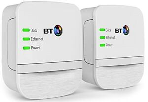 BT Wifi Broadband Extender Internet Connection Booster Powerline Adapter 600MB