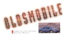 1994 Oldsmobile Cutlass Supreme Owners Manual User Guide Reference Operator Book