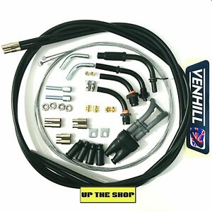 VENHILL Motorcycle push pull Domino Dual Throttle cable kit 1.35m outer 2m inner
