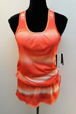 New with Tags RBX Women's Top Racer back Jogger Tunic Length Sunrise Color Small