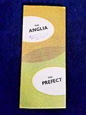1955 Ford Anglia & Prefect Sales Brochure Original not a reprint
