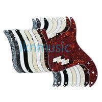 US Standard P Bass Pickguard Scratch Plate for 4 Strings PB Bass 13Holes+Screws