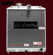 2 Row Aluminum Radiator For Honda CIVIC EJ/EK/DEL SOL EG/INTEGRA DB DC 92-00 MT
