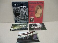 BONNIE AND CLYDE HISTORICAL RESEARCH ASSORTMENT, BOOKS, NEWSPAPERS, PHOTOS, MORE
