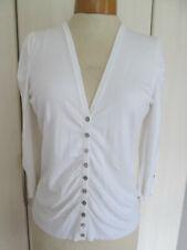 Mint Velvet white cardigan/top unworn. size 14