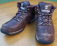Timberland Euro Sprint Hiker Leather Boots Shoes Split Rock Mens UK 9 EUR 43.5