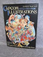 CAPCOM ILLUSTRATIONS 1995 Gamest Mook 17 Art Illustration Book Neo-Geo SI