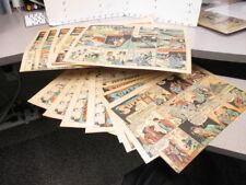 newspaper ad SUPERMAN comic book strip Sunday 1940-1943 (13) WWII robot